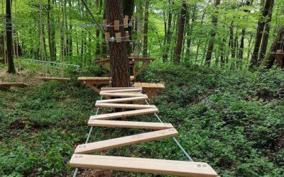 Ouverture du parc accrobranche : Objectif mi-juin !